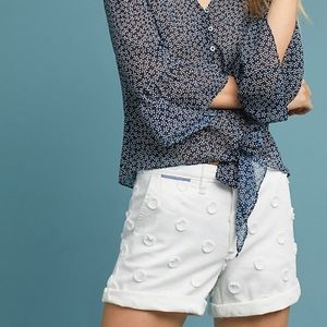 NWT Anthropologie Relaxed Chino Shorts Size 28